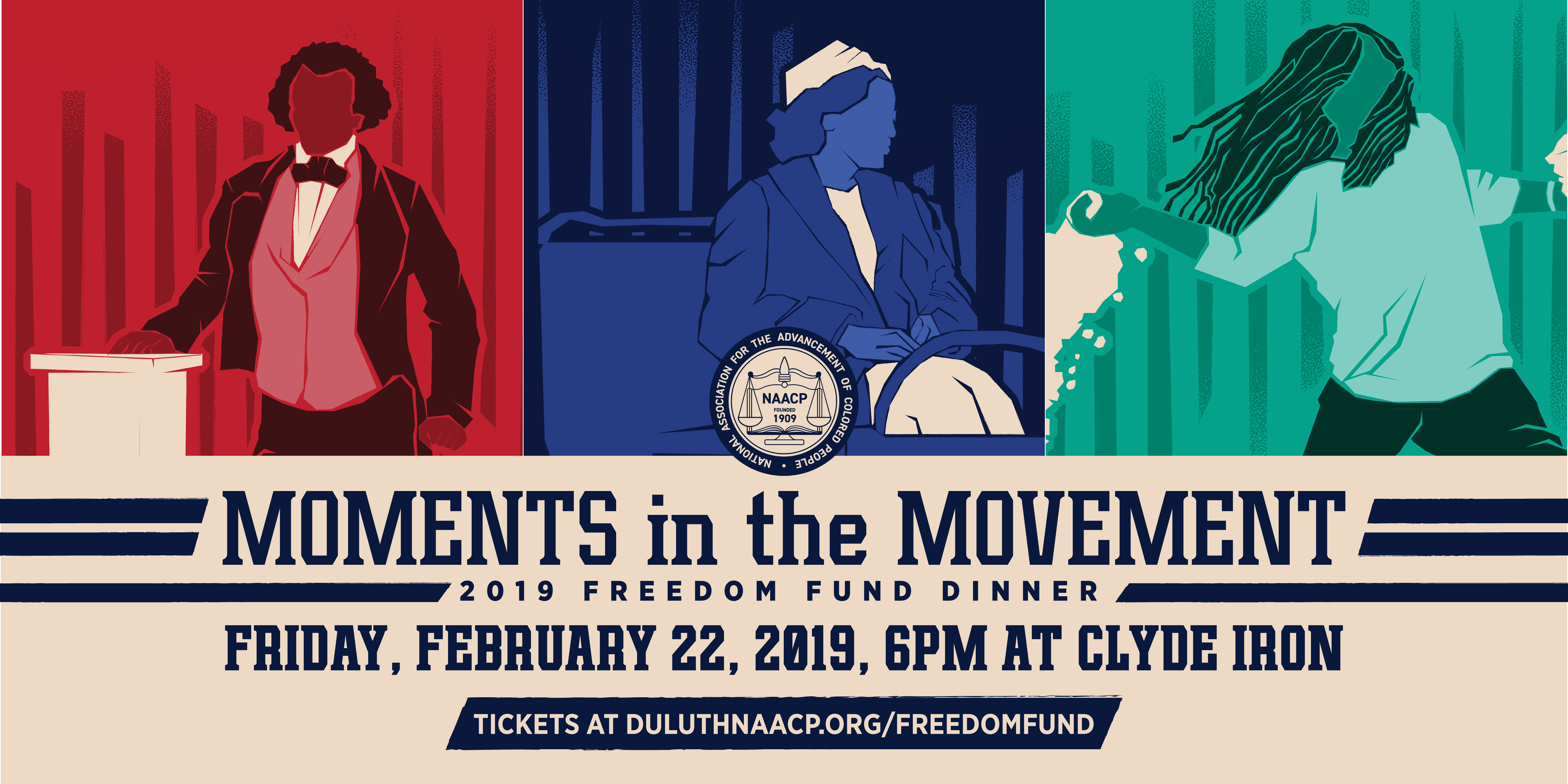 Moments in the Movement-2019 Freedom Fund Dinner