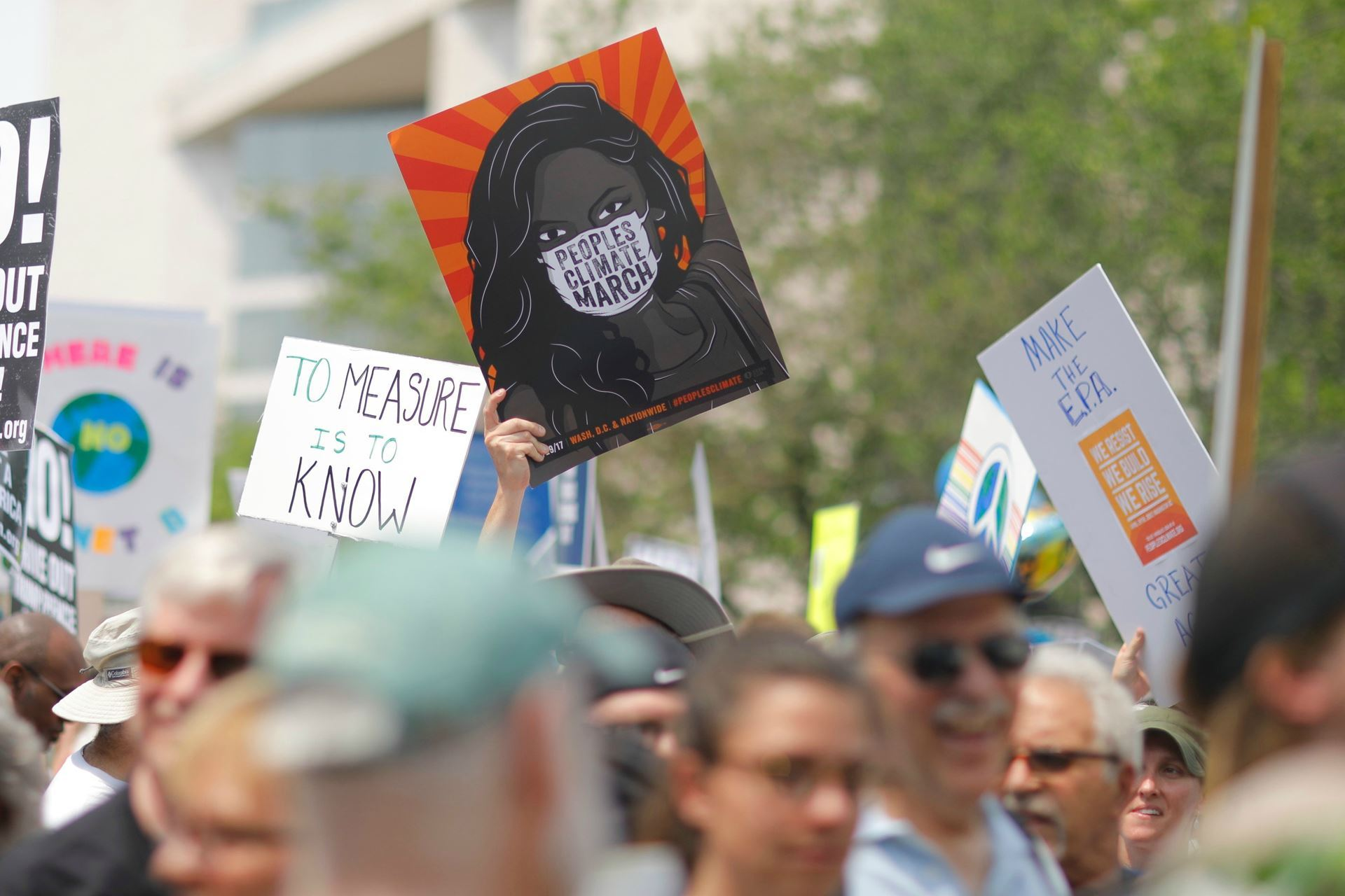 Photo of Climate marchers by The Climate Reality Project on Unsplash